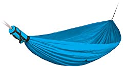 Sea to Summit Pro Hammock Double - Blue - 2 Person - For Travel & Camping - Lightweight & Compact