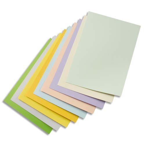 Image Coloraction 380906Coloured Paper 500Sheets A3, BB ECF Wood-Free 80g/m², 420mm x 297mm, Jungle/Light Green