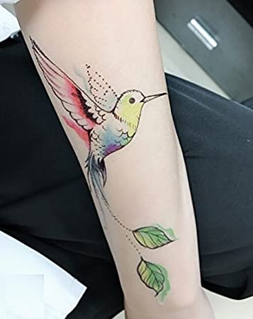 Tempo rary Tatuajes Juego de 4 Resistente al agua, Cool y gigante ...