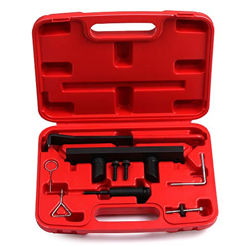 ECCPP Engine Camshaft Alignment Locking Timing Tool Kit Tensioner Bolt Chain Tensioner Retainer Fit for VW Audi 2.0L FSI/TFSI