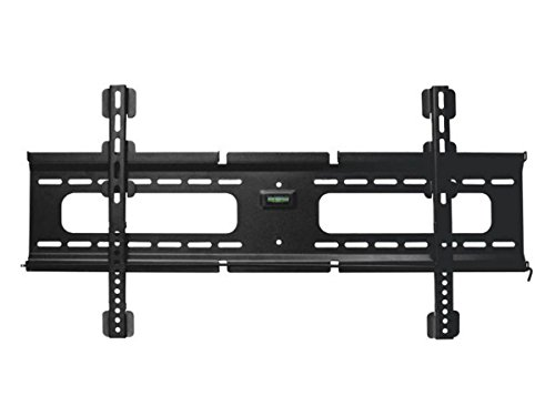 Fixed TV Wall Mount Bracket - For TVs 37in to 70in Max Weight 165 lbs VESA Patterns Up to 800x400 Security Brackets Works with Concrete & Brick ()