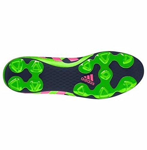Adidas Women's Predito Instinct FG Soccer Cleat - (Pink/Green/White, 7)