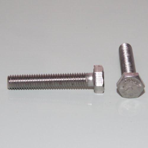1 St/ück Sechskantschrauben mit Au/ßensechskant M10 x 16 DIN 933 Edelstahl A2
