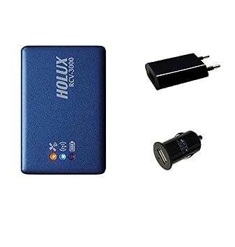 HOLUX RCV-3000 (neue Version) Bluetooth GNSS GPS/ GLONASS Logger mit MT3333 Chipsatz - Standardpaket RCV-3000 GNSS