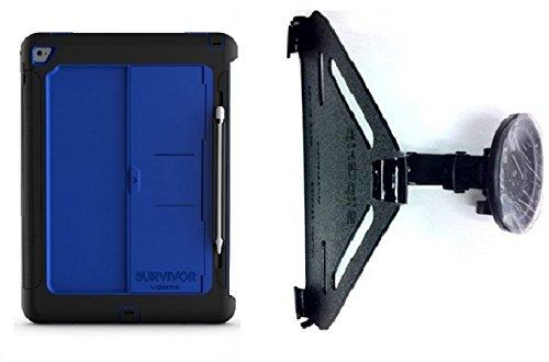 Price comparison product image SlipGrip Car Holder Designed For iPad Pro 12.9 inch Tablet Griffin Survivor Slim Case