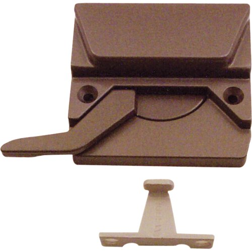 Prime-Line Products TH 23048 Sash Lock and Keeper, Right Hand, Bronze ()