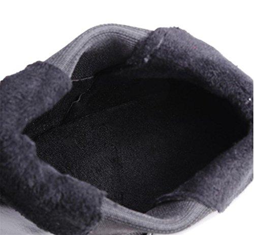 Tacco Stivaletti Modo Donne Scarpe Caviglia Stivaletti Size Mnii Moda Bianche Blocco Delle Donne Tallone Piattaforma Inverno xqYYIrftw
