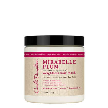 Carols Daughter Mirabelle Plum (fullness & hydration) weightless hair mask 8oz