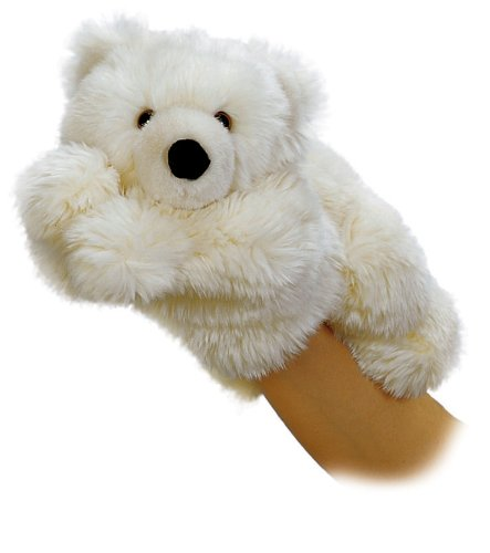 - Aurora World Slushy Polar Bear Hand Puppet, 11