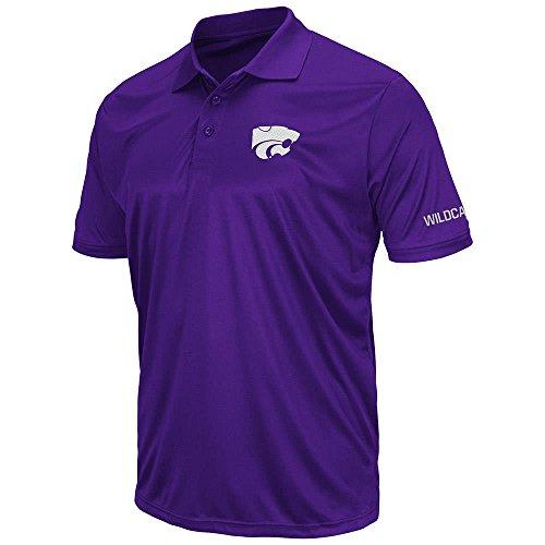 Mens Kansas State Wildcats Short Sleeve Polo Shirt - 2XL