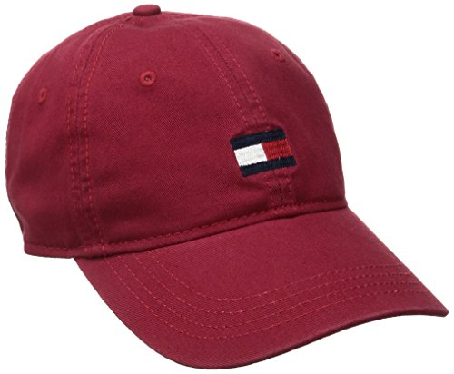 the best attitude 2267a c2ebc Tommy Hilfiger Men s Ardin Dad Baseball Cap, Core Red, One Size