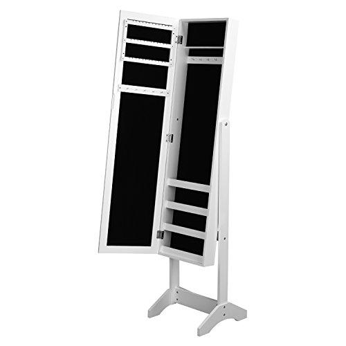 Home Make Organizador Godric con Espejo (Blanco)