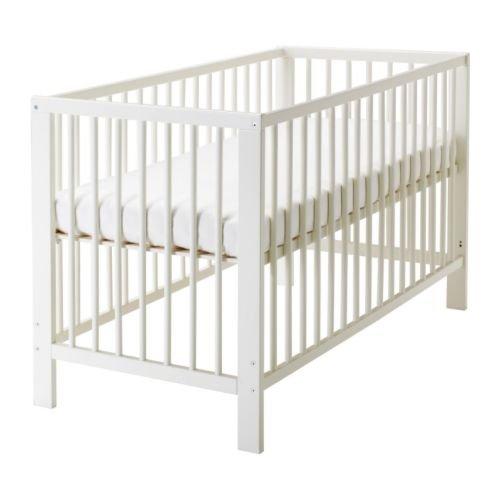 Ikea Gulliver Convertible Crib White