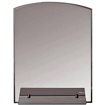 Bad Spiegel Mit Glas Ablage 70 X 50 Cm / Wandspiegel Für Badezimmer