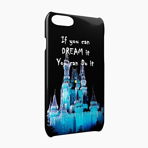 If You Can Dream It You Can Do It Glossy Hard Snap-On Protective iPhone 7 Case Cover