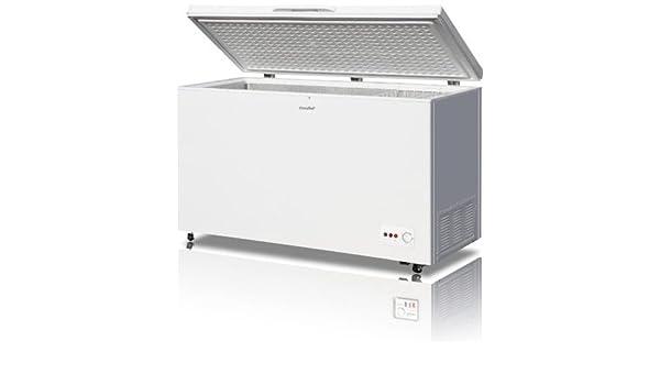 Comfee - Congelador horizontal tipo arcón de 412 litros con ...