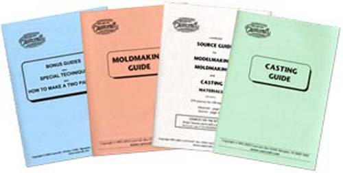 Fibre Glast - Castcraft Moldmaking & Casting Guides (4 Book set) by Roger Beebe