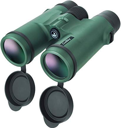 Gosky 8x42 Binoculars for Adults, Compact HD Professional Binoculars for Bird Watching Travel Stargazing Hunting Concerts Sports-BAK4 Prism FMC Lens-with Phone Mount Strap Carrying Bag