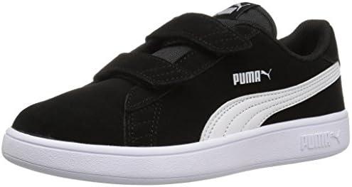 Boys Puma Suede Skate Preschool Sneakers Casual Black