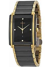 Integral L Jubile Black Dial Ceramic SS Quartz Male Watch R20204712