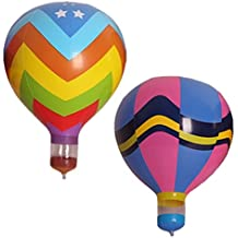 2pcs/set Hot Air Balloon Inflatable Hanging Balloons for Decoration of Kids' Birthday/Wedding/Party/Event/Photo Props Model Toy