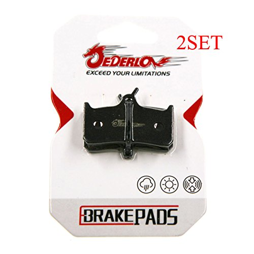 - JEDERLO 01A 2 PAIR BRAKE PADS FOR DEORE XT BR M755 HOPE MONO M4 SRAM