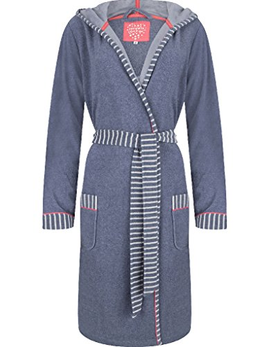 Pastunette Robe à Rayures - Bleu 7061-352-9 (548)