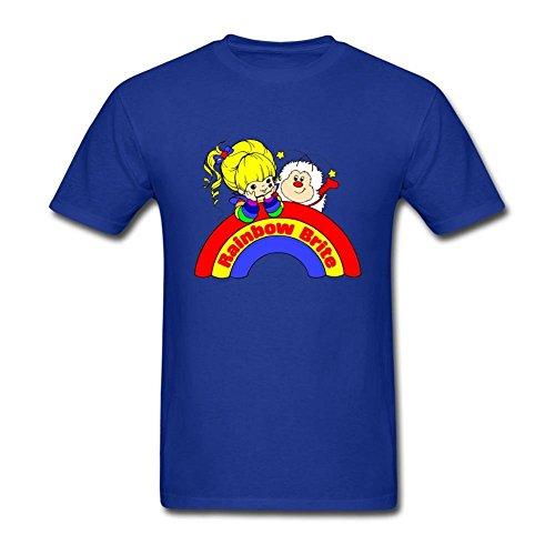 futhure-mens-rainbow-brite-cotton-diy-t-shirt