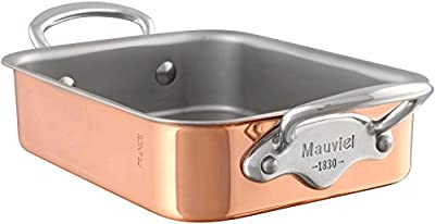 Mauviel M'Mini - Copper Rectangular roasting pan - 5.5 x 3.9 x 1.8