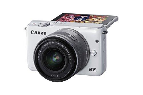 Systemkamera Canon EOS M10 inkl. Kit-Objektiv - Klein, kompakt, hübsch und perfekt für schnelle Fotos