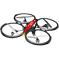 Leegor New 2.4G Remote Control 4CH 6-Axis Gyro RC Quadcopter Headless Mode 360 Degrees Roll Drone RTF Helicopter (Include Camera)