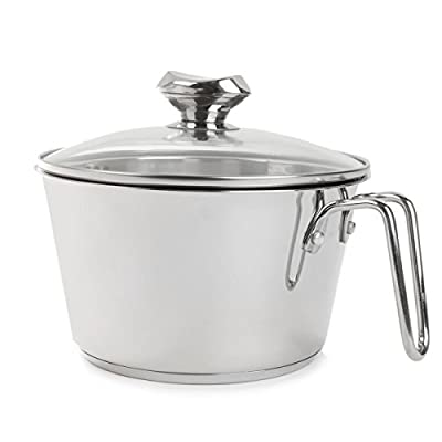 Wolfgang Puck 3-Quart Cook and Stir with Colander Lid WP3QTCANDS Stainless Steel
