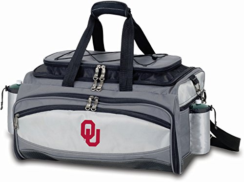(PICNIC TIME NCAA Oklahoma Sooners Embroidered Vulcan Set, One Size, Black)