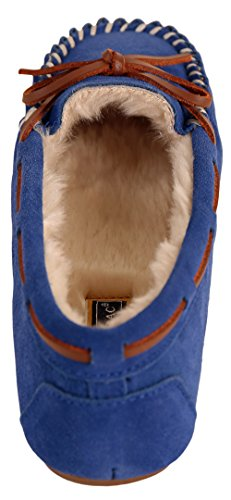 Blue Slippers Slipper Molly Tamarac Low Royal Women's Blitz by International Faux vPwq7p