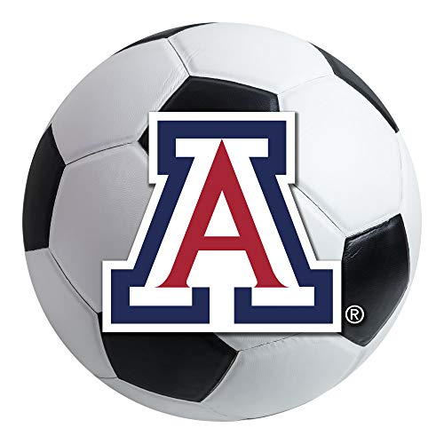 (FANMATS NCAA University of Arizona Wildcats Nylon Face Soccer Ball)