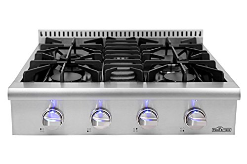 "30'' Thor Kitchen Gas Range Top/Cook Top 30"" W x 27.5"" D x 8.5"" H HRT3003U"