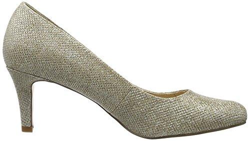Buffalo Damen C404a-1 P1855d Glitter Pompen Goud (goud 01)