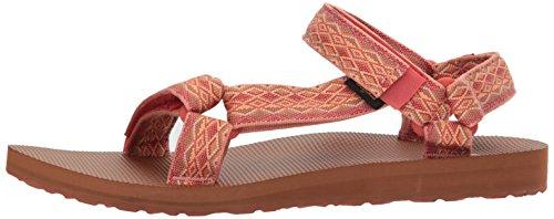 Sandales Universal Fade Multi Coral Femme Teva Original Miramar Sand B5XnFwE7q