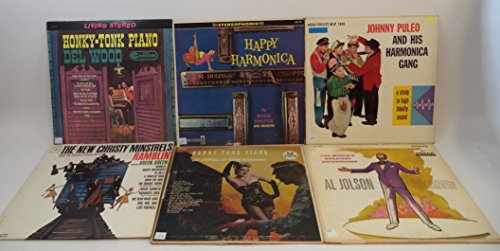 Dixieland and Swing Music Lot of 6 Vinyl Record Albums Al Jolson and more