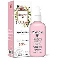 Rosense Rosenwasser 100% natuurlijk, veganistisch, per stuk verpakt (1 x 100 ml)
