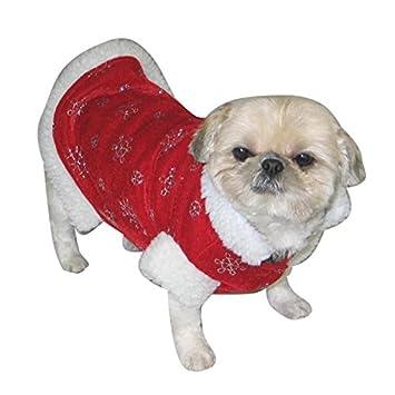 lively moments Simple Traje de la navidad para los perros ...