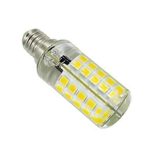 - TONGDAUS Dimmable E14 5Watts 80LED 5730SMD 400-500 LM Cool White LED Silica Gel Corn Lamp AC 110V/AC 220V(1PCS) (Color : AC 220V-Warm white)