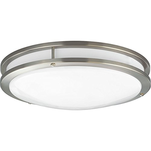 - Progress Lighting P7253-0930K9 COMM One-Light LED CTC, Brushed Nickel