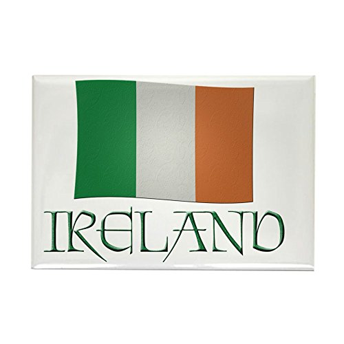 CafePress Irish-Flag-Ireland Rectangle Magnet, 2