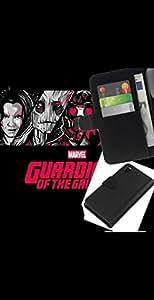 NEECELL GIFT forCITY // Billetera de cuero Caso Cubierta de protección Carcasa / Leather Wallet Case for Sony Xperia Z3 D6603 // Galaxy Guardianes