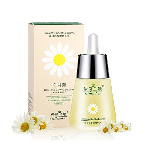- Chamomile Smoothing Repair Essence, Suitable for Red Blood Silk, Sensitive Skin, Moisturizing, Anti-wrinkle 30ml