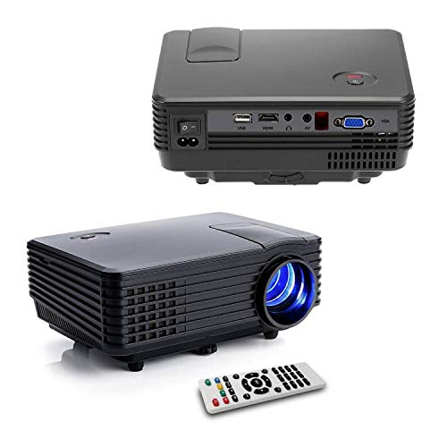 FAVI LED-3 LED LCD (SVGA) Mini Video Projector - US Version (Includes Warranty) - Black (RioHD-LED-3) (Infocus Projector Data)