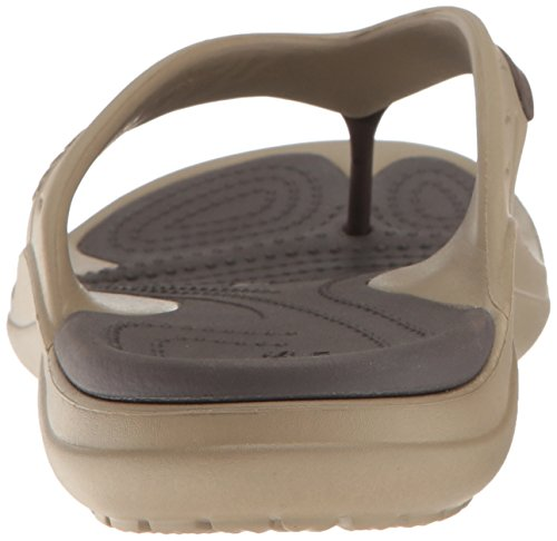 Espresso Modi Flip Crocs Sport Flop Unisex Khaki P6qxTvYw