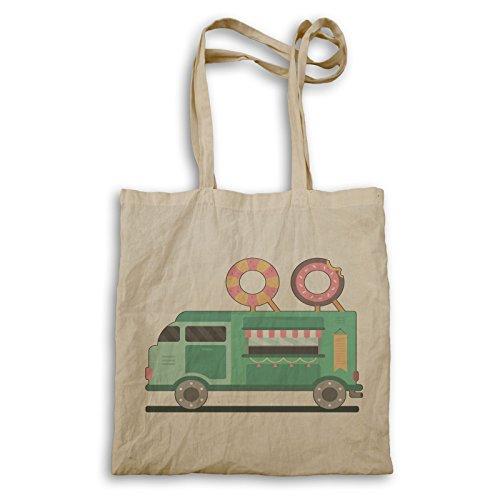 Donuts Truck Delicious Borsa Da Trasporto R387r