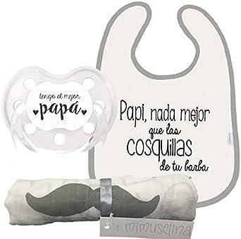 Mimuselina Pack Regalo Día del Padre | Regalo para Papás y Bebés ...
